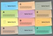 Набор элементов, инфографика — Cтоковый вектор