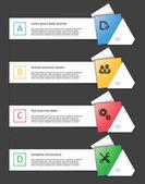 Infografiken elemente — Stockvektor