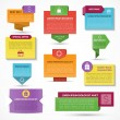 Set of vector web elements. Labels, tags, banners — Stock Vector #73124297