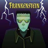 Monstruo de frankenstein — Vector de stock