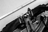 Old typewriter - Dear Mr. — Foto Stock