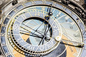 Prague's Astronomical Clock — Foto de Stock