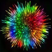 Colorful light figure — Stock Vector