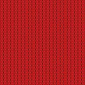 Red seamless background, abstract geometric perforation — Stock Vector