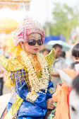 Poi Sang Long ordination ceremony festival — Stock Photo