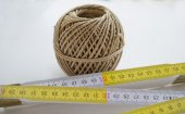 Measuring tape, string and pencil for building — Стоковое фото