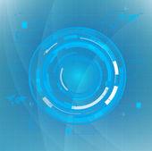 Technology futuristic circuit digital background, Vector illustration — Stock Vector