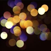 Celebrate bokeh background, Vector illustration — Wektor stockowy