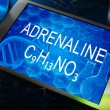 ������, ������: The chemical formula of adrenaline