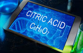 Citric acid — Stock Photo