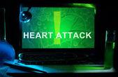 Heart Attack — Foto Stock