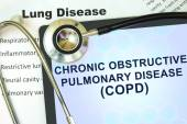 Chronic obstructive pulmonary disease (COPD) — Stock Photo
