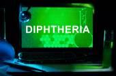 Diphtheria — Stock Photo