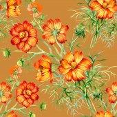 Wild flowers sbackground — Foto Stock