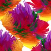 Watercolor red flowers texture — Stock Photo