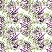 Watercolor violet field flower texture — Φωτογραφία Αρχείου
