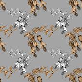 Flower seamless pattern — Stock Photo