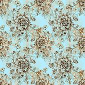 シームレスな花柄 — ストック写真