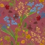 Herbarium plants background — Stock Photo #56594719