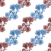 Petunia flowers background — Stock Photo