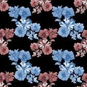 Petunia flowers background — Stock Photo