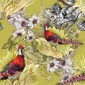 Pheasant animals background — 图库照片