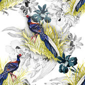 Pheasant animals background — Stock Photo