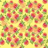 Rosor seamless mönster — Stockfoto