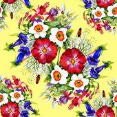 Garden floral pattern — Foto Stock