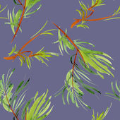 Spring green Branches — Stock Photo