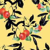 Apple boom met bladeren — Stockfoto