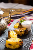 Grilled pineapple — Stock Photo