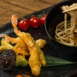 Tempura Shrimps with Vegetables — Stock Photo #60220317