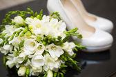 Düğün buketi — Stok fotoğraf