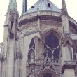 Architectural details of Cathedral Notre Dame de Paris. — Stock Photo #67988601
