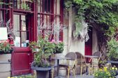 View on traditional parisian buildings in Paris, France. — Photo