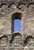 古い城の窓 — ストック写真