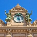 Monaco Grand Casino Clock — Stock Photo #71642339