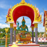 Buddhistic Pagoda — Stock Photo #71648655