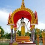 Buddhistic Pagoda — Stock Photo #71648659