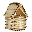 House from matches — Stock Photo #71649147