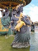 Fountain des Fleuves — Stock Photo