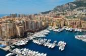 Monte Carlo port — Stock Photo