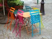 Paris - Cafe Table — Stock Photo