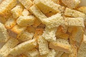 Croutons background — Stock Photo