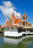 Buddhistickými chrám — Stock fotografie