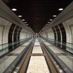 Monaco - Pedestrian tunnel — Stock Photo #71656093
