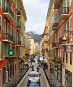 Nice - Architecture des bâtiments sur la Place Masséna — Photo