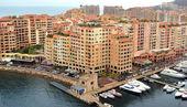 Monaco - Architecture Fontvieille district — Stock Photo