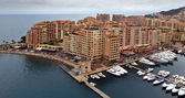 Monaco - Architecture Fontvieille district — Stock Photo